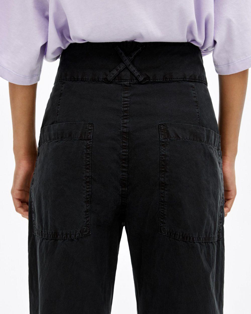 Pantaloni Carota Neri Nero Donna | Pantaloni Bimba Y Lola